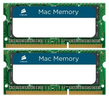 Оперативная память 8Gb DDR-III 1333MHz Corsair SO-DIMM (CMSA8GX3M2A1333C9) (2x4Gb KIT)