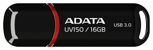 USB Flash накопитель 16Gb ADATA UV150 Black