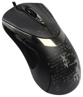 Мышь A4Tech F4 V-Track Black USB