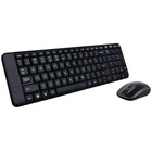 Клавиатура + мышь Logitech Wireless Desktop MK220 (920-003169)