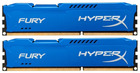 Оперативная память 8Gb DDR-III 1333MHz Kingston HyperX Fury (HX313C9FK2/8) (2x4Gb KIT)