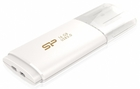 USB Flash накопитель 16Gb Silicon Power Blaze B06 White (SP016GBUF3B06V1W)