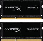 Оперативная память 16Gb DDR-III 1600MHz Kingston HyperX SO-DIMM (HX316LS9IBK2/16) (2x8 KIT)