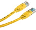 Патч-корд Hyperline PC-LPM-UTP-RJ45-RJ45-C5e-0.5M-LSZH-YL