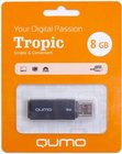USB Flash накопитель 8Gb QUMO Tropic Black