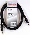 Кабель Telecom 3.5 Jack (M) - 3.5 Jack (M), 1.5м (TAV7175-1.5M)