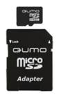 Карта памяти 8Gb MicroSD QUMO Class 10 + adapter (QM8GMICSDHC10)