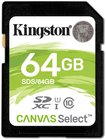Карта памяти 64Gb Kingston Canvas Select SDXC Class 10 (SDS/64GB)