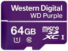 Карта памяти 64Gb MicroSD Western Digital Purple Class 10 (WDD064G1P0A)