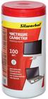 Silwerhof 671214 чистящие влажные салфетки, для мониторов/телевизоров/ноутбуков, туба, 100шт.