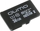 Карта памяти 16Gb MicroSD QUMO Class 10 (QM16GMICSDHC10U1NA)