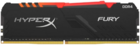 Оперативная память 8Gb 2400MHz DDR4 Kingston HyperX Fury RGB (HX424C15FB3A/8)