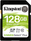 Карта памяти 128Gb Kingston Canvas Select Plus SDXC Class 10 (SDS2/128GB)