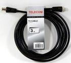 Кабель антенный Telecom (M) - (F), 3m (TTV9501-3M)