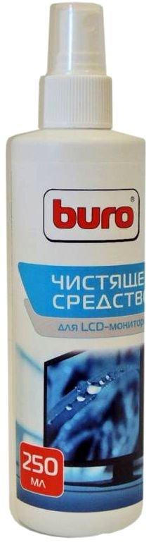 Buro спрей для чистки LCD-мониторов, смартфонов, планшетов 250мл (BU-SLCD)