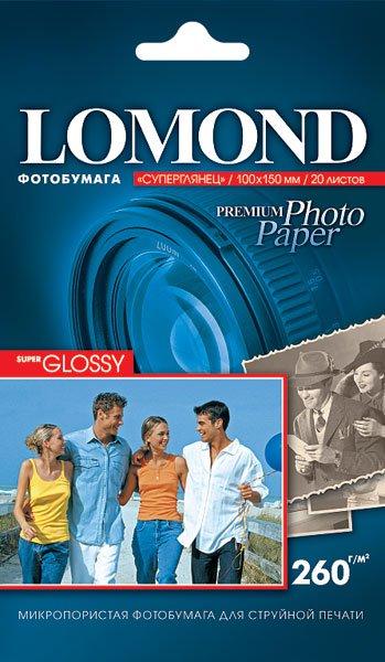 Бумага Lomond Super Glossy Premium Photo Paper (1103102)