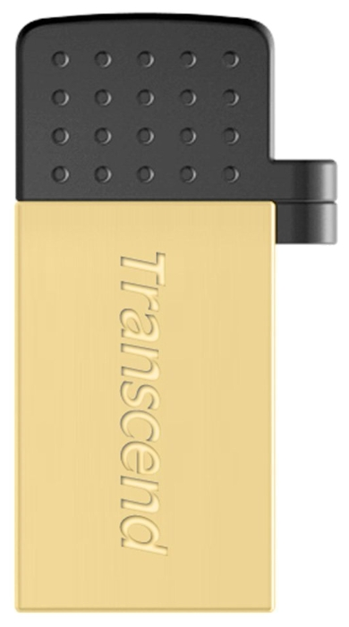 USB Flash накопитель 16Gb Transcend JetFlash 380 Gold (TS16GJF380G)