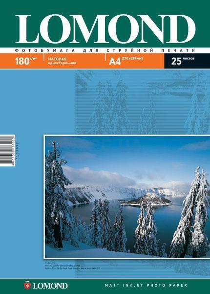Бумага Lomond Matt Inkjet Photo Paper (0102037)