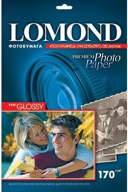 Бумага Lomond Semi Glossy Premium Photo Paper (1101305)