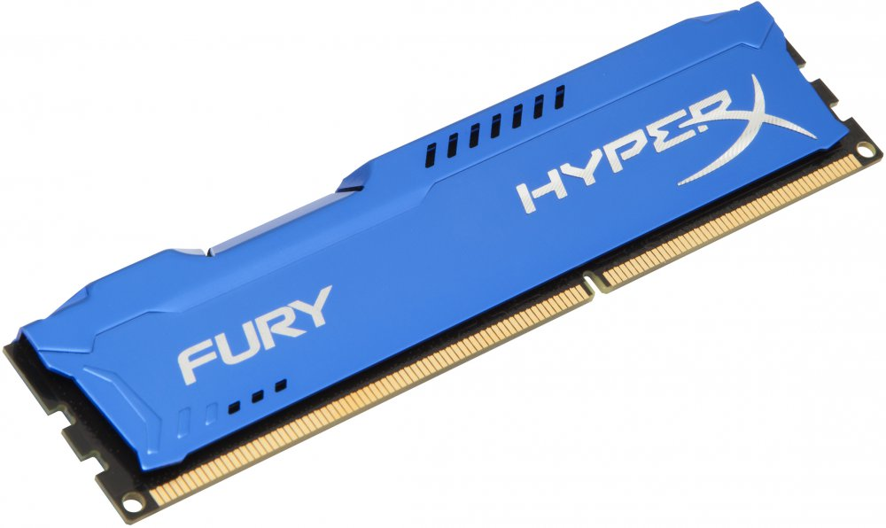 Оперативная память 4Gb DDR-III 1600MHz Kingston HyperX Fury (HX316C10F/4)