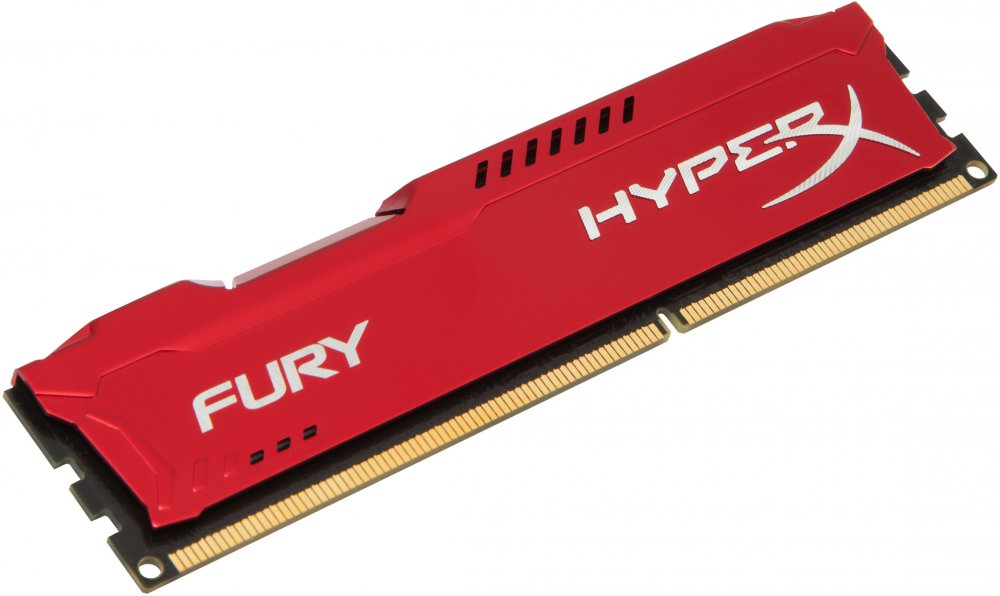 Оперативная память 4Gb DDR-III 1600MHz Kingston HyperX Fury (HX316C10FR/4)