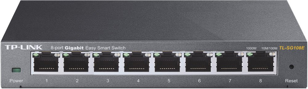 Коммутатор (switch) TP-Link TL-SG108E