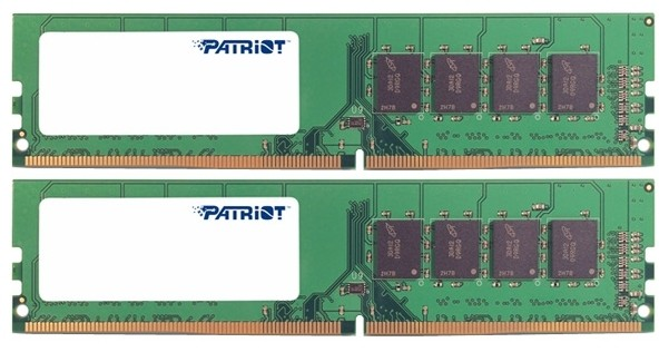 Оперативная память 8Gb DDR4 2133MHz Patriot (PSD48G2133K) (2x4Gb KIT)
