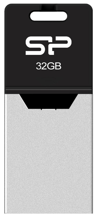 USB Flash накопитель 32Gb Silicon Power Mobile X20 Silver (SP032GBUF2X20V1K)