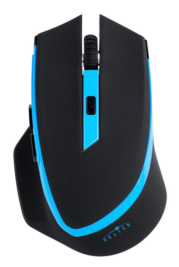 Мышь Oklick 630LW Black/Blue USB