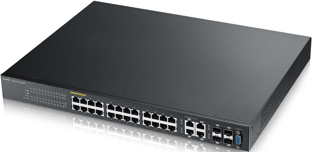 Коммутатор (switch) Zyxel GS2210-24HP
