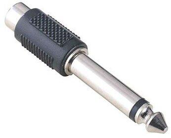 Переходник HAMA RCA (F) - 6.3 Jack (M) (H-43356)