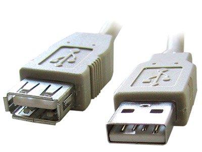 Кабель удлинительный Gembird USB 2.0 A (M) - A (F), 3м (CC-USB2-AMAF-10)