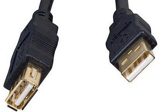 Кабель удлинительный Gembird USB 2.0 A (M) - A (F), 3м (CCF-USB2-AMAF-10)