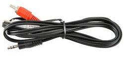 Кабель Telecom 3.5 Jack (M) - 2xRCA (M), 5м (TAV7183-5M)