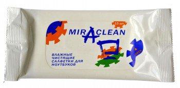 Miraclean 24132 влажные чистящие салфетки для ноутбуков (15 шт.)