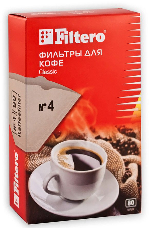 Фильтры для кофе Filtero №4 Classic