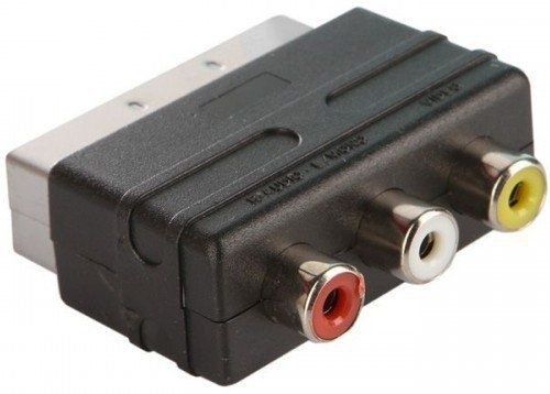 Переходник Perfeo SCART (M) - 3xRCA (F) (A7007)