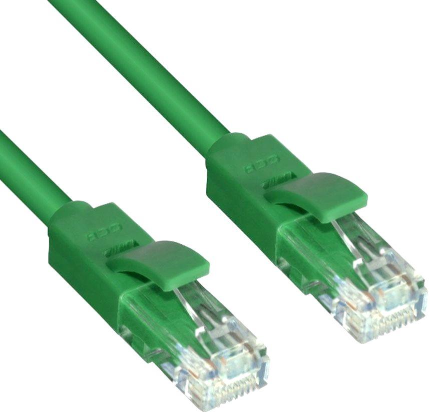Патч-корд Greenconnect UTP 5e, 0.5м (GCR-LNC05-0.5m)