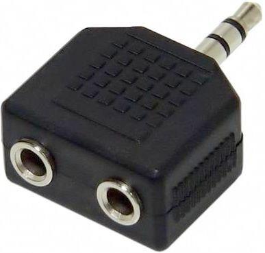 Переходник VCOM VAD7847 3.5 Jack (M) - 2x 3.5 Jack (F)