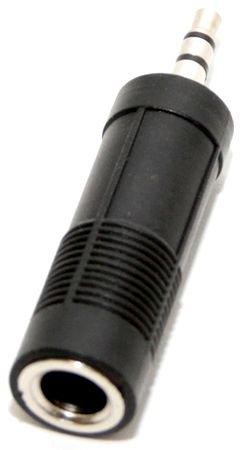 Переходник 5bites 3.5 Jack (M) - 6.3 Jack (F) AA-3M6F-03