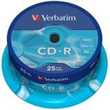 Диск CD-R Verbatim 700Mb 52x DataLife Cake Box (25шт) (43432)