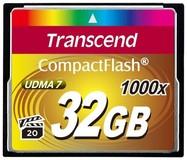 Карта памяти 32Gb Transcend 1000x (TS32GCF1000)