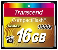 Карта памяти 16Gb Transcend 1000x (TS16GCF1000)