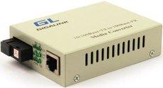 Медиаконвертер GIGALINK GL-MC-UTPF-SC1F-18SM-1310-N