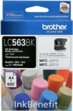 Картридж Brother LC563BK