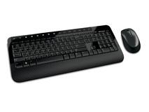 Клавиатура Microsoft Wireless Desktop 2000 USB Black (M7J-00012)