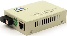 Медиаконвертер GIGALINK GL-MC-UTPF-SC1F-18SM-1550