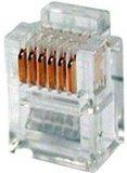 Телефонный разъем Hyperline PLUG-6P6C-P-C2