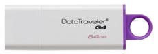 USB Flash накопитель 64Gb Kingston DataTraveler G4 White/Purple (DTIG4/64GB)
