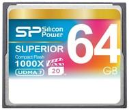 Карта памяти 64Gb Silicon Power 1000x (SP064GBCFC1K0V10)